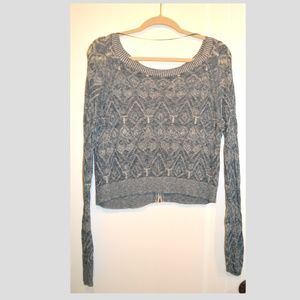 Free People Zipper Sweater